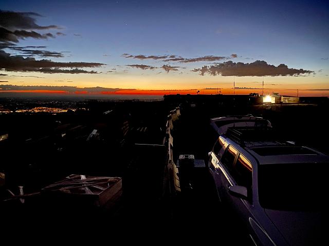 Sunrise on the summit - KN0MAP